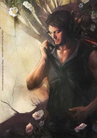 Фото Дэрил Диксон / (Daryl Dixon), герой телесериала Ходячие мертвецы / The Walking Dead
