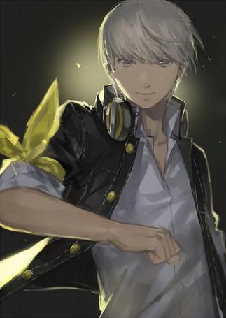 Фото Narukami Yu / Наруками Ю из аниме персона 4 / Persona 4