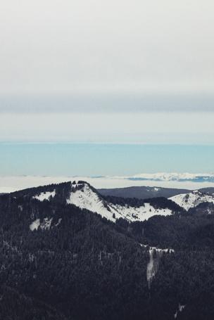 Фото Вид на горы и море