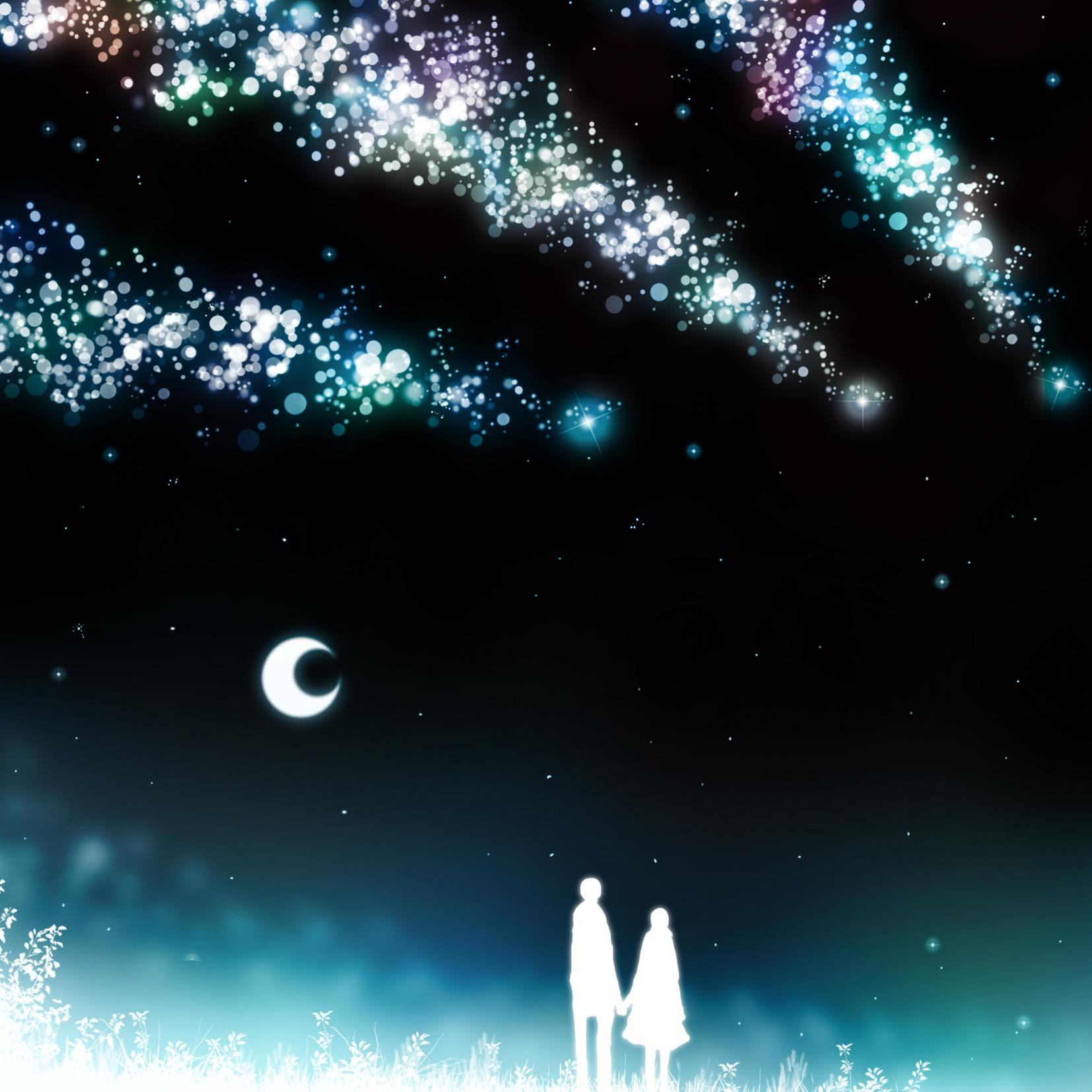 душа полна падающих звезд картинки роща