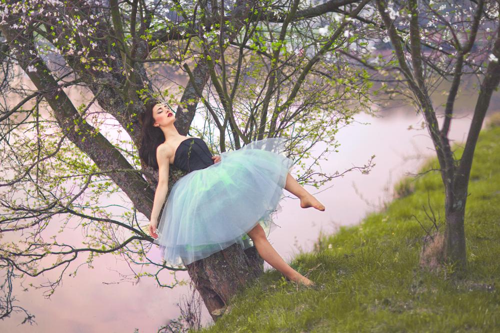 Балерина на природе картинки для