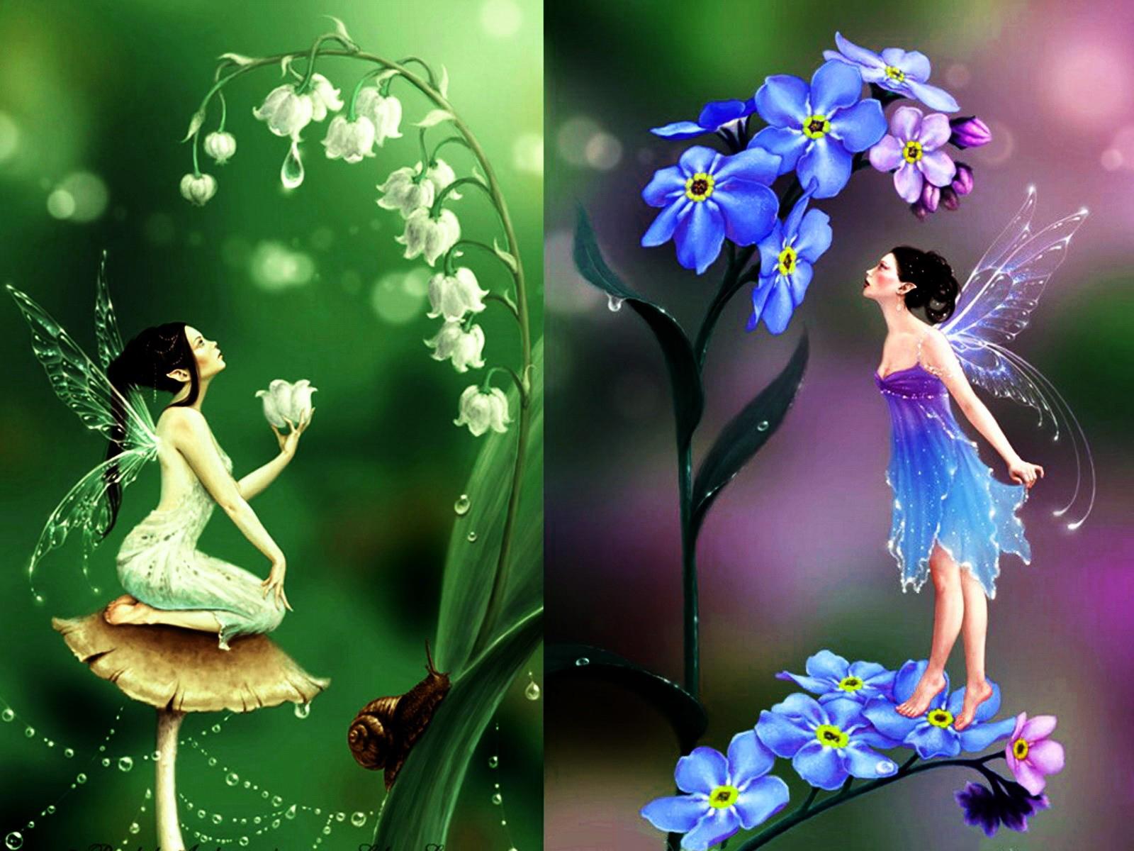 Эльфийские принцессы двойняшки 14 фотография