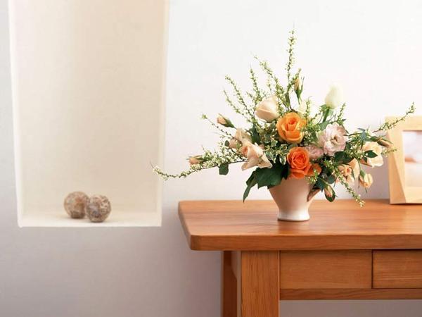 Фото ваза на столе