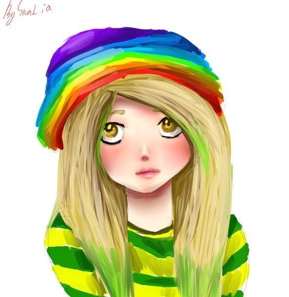 Рисунки для подростков крутые цветные, днем рождения