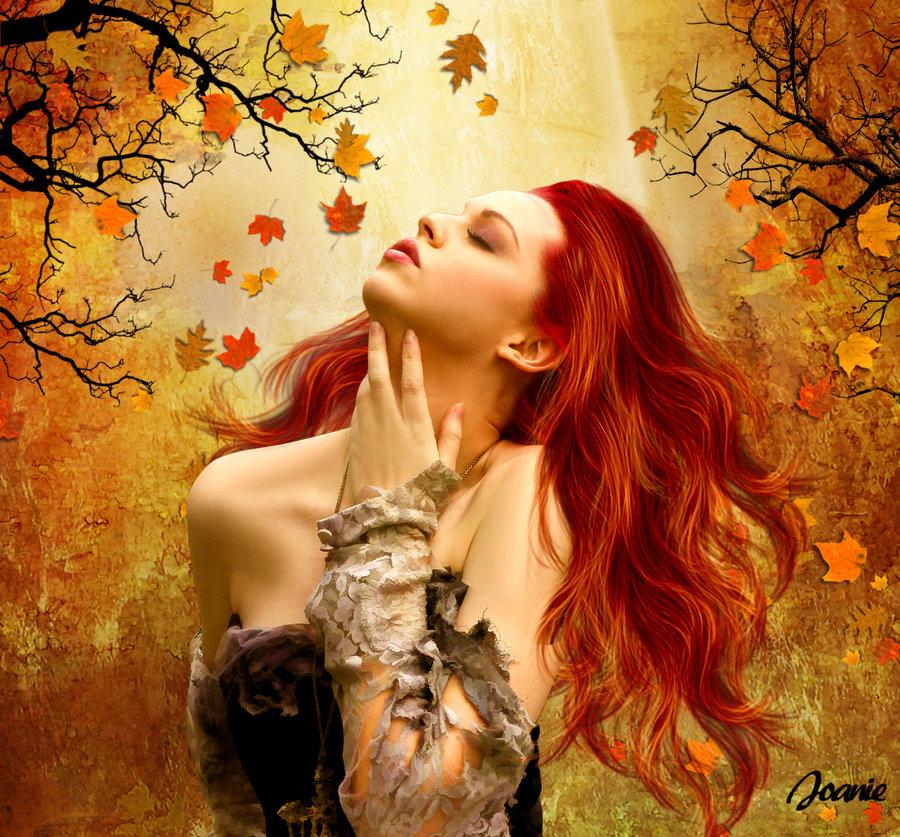 Картинки для девушки про осень