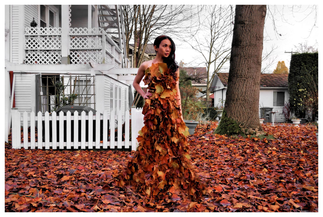являются фото с листом клена как платье удивительно