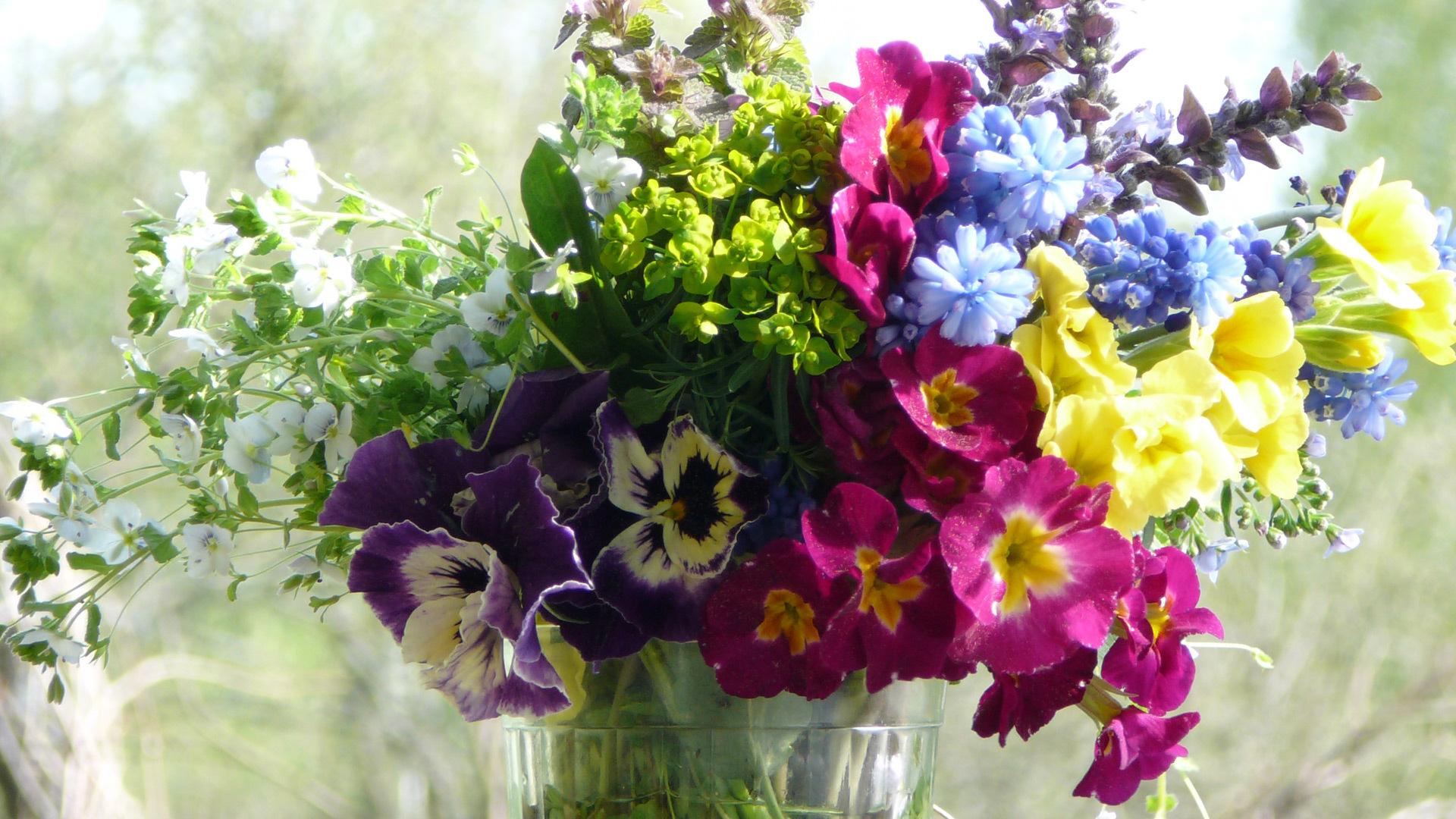 Фото Букет красивых цветов