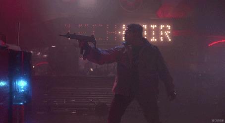 Фото Кадр из фильма Терминатор / The Terminator, в главной роли Арнольд Шварценеггер / Arnold Schwarzenegger