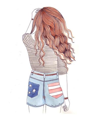 Рисунки нарисованные в личный дневник девушки