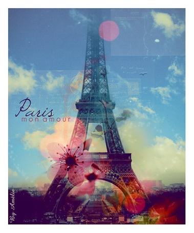 Фото Эйфелева башня в Париже, Франция / Eiffel tower, Paris, France, by Amelie (Paris mon amour / Париж, моя любовь)