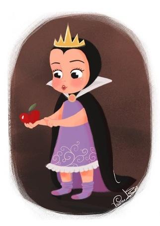 Фото Злая королева маленькая Гримхильда / Grimhild из мультфильма Белоснежка / Snow White, автор Vixanne