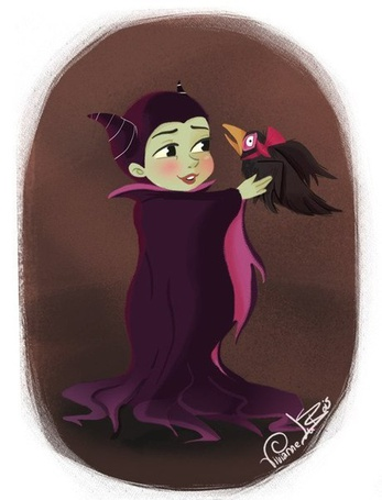 Фото Маленькая Малефисента / Maleficent из фильма Малефисента / Maleficent, автор Vixanne