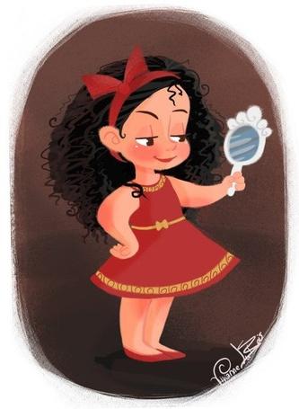 Фото Маленькая мачеха Готель / Gothel из мультфильма Рапунцель запутанная история / Rapunzel Tangled