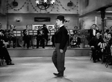 Фото Лунная походка Чарли Чаплина / Charles Chaplin
