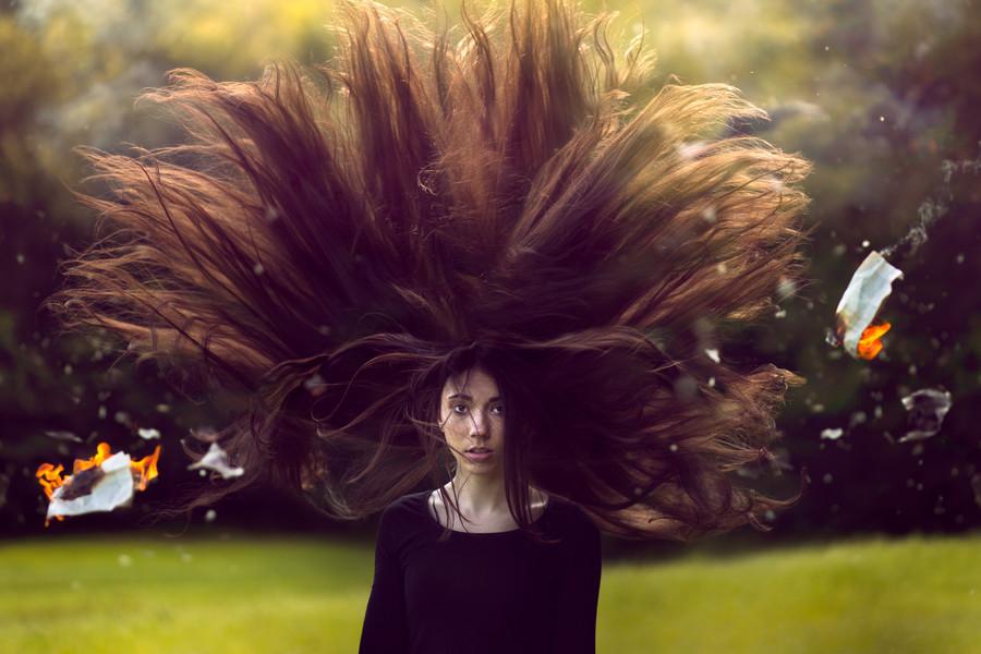 Фото с длинными волосами идеи