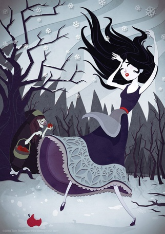 Фото Арт к сказке Snow White and the Seven Dwarfs / Белоснежка и семь гномов, by Tom Robinson (TomMonster)