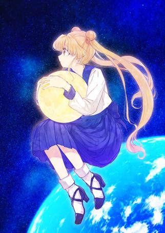Фото Usagi Tsukino / Усаги Цукино из аниме Bishoujo Senshi Sailor Moon / Красавица-воин Сейлор Мун
