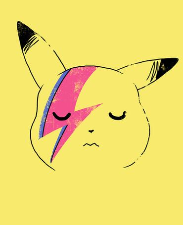 Фото Пикачу с рисунком молнии на лице