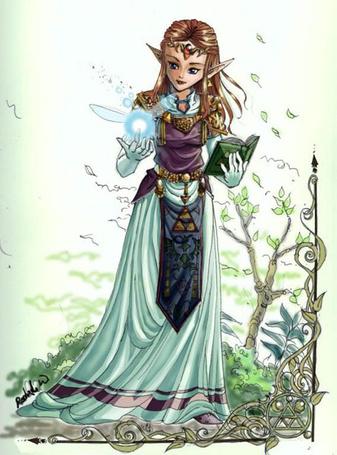 Фото Принцесса-эльф из японского аниме
