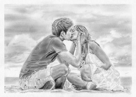 Фото Целующиеся парень с девушкой, by Radiance-Eternal