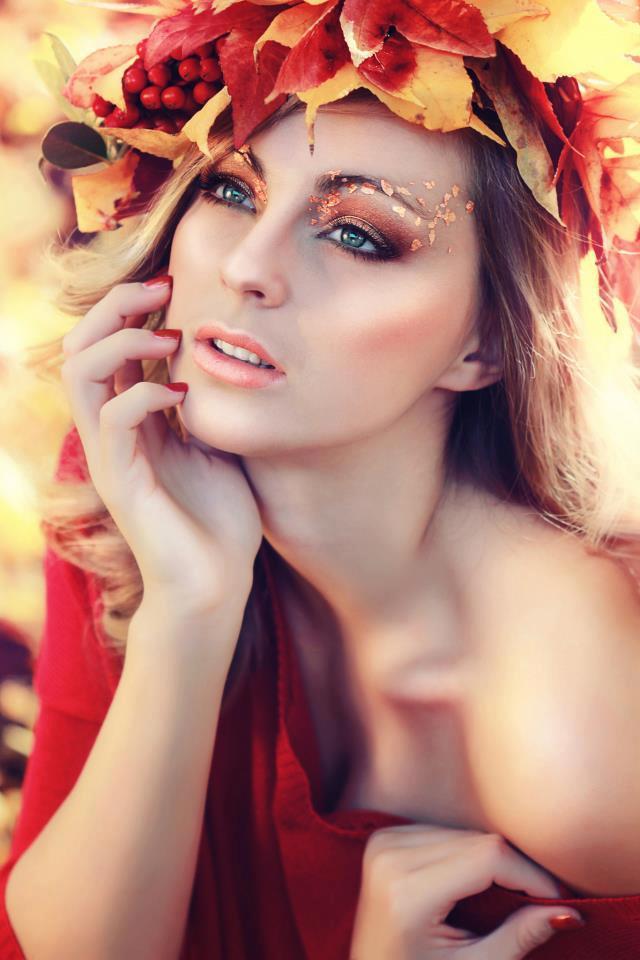 оценка осенний макияж фото данной статье