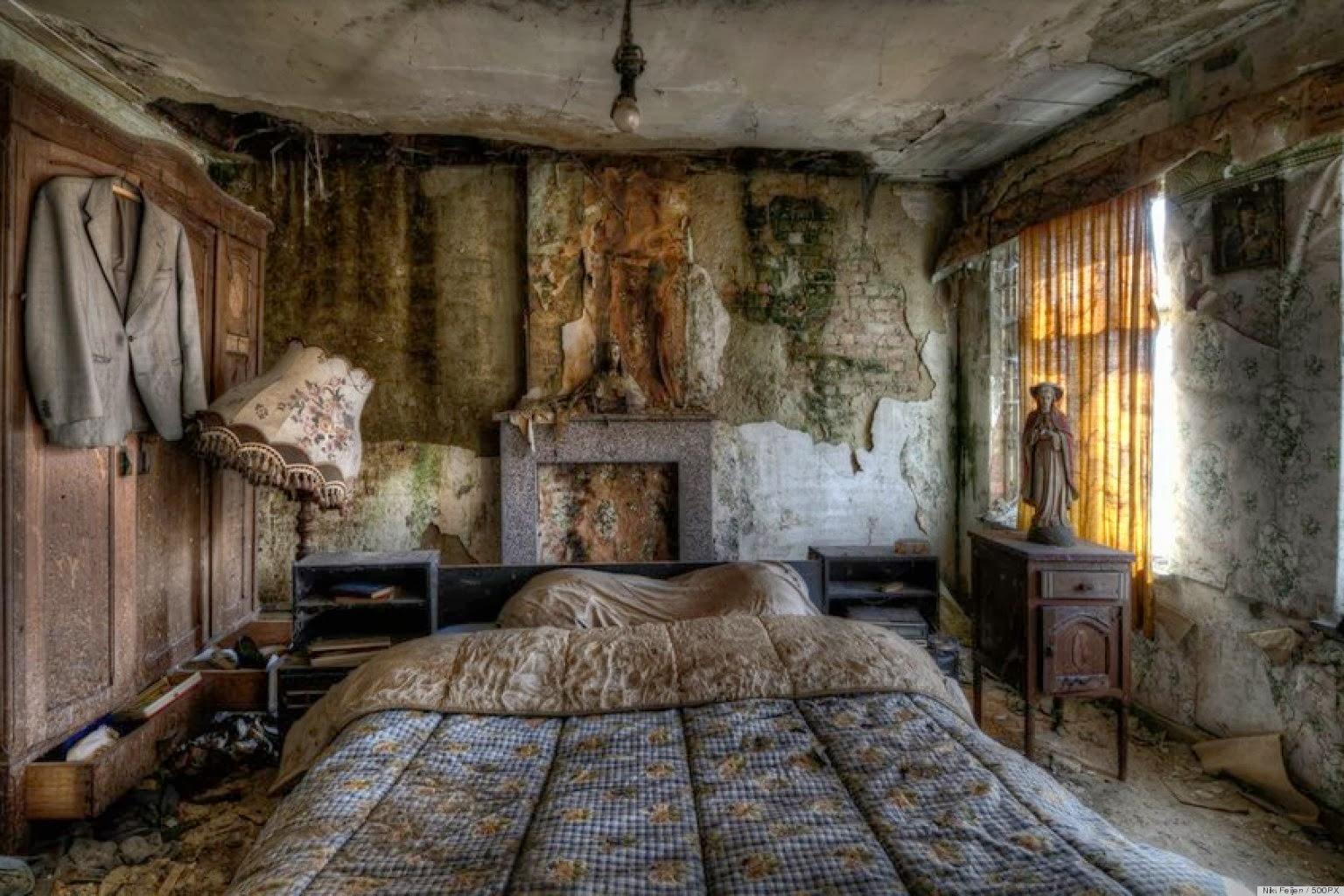 картинки заброшенных домов в лесу
