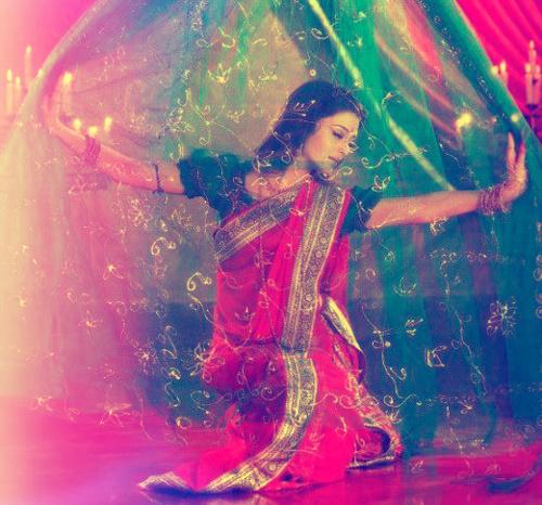 Фото Девушка в индийском наряде