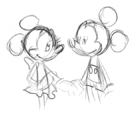 Фото Микки и Минни из мультфильма Микки Маус / Mickey Mouse