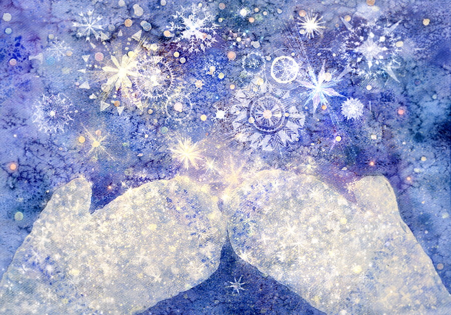 одарила летят снежинки картинка поверишь