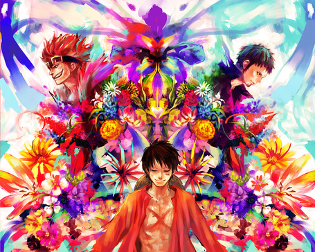 ���� ����� �. ����� / Monkey D. Luffy, ���������� �� / Trafalgar Lo � ����� ��� / Eustass Kid �� ����� ��� ��� / One Piece (� Maya Natsume), ���������: 02.12.2014 19:01