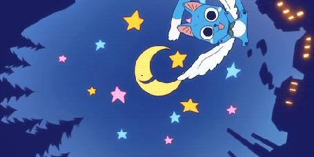 Фото Хэппи из аниме Сказка о Хвосте феи / Хвост феи / Фейри Тейл / Fairy Tail