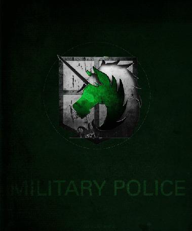 Фото Знак Полиции / Military Police из аниме Атака титанов / Shingeki no Kyojin (Military Police)