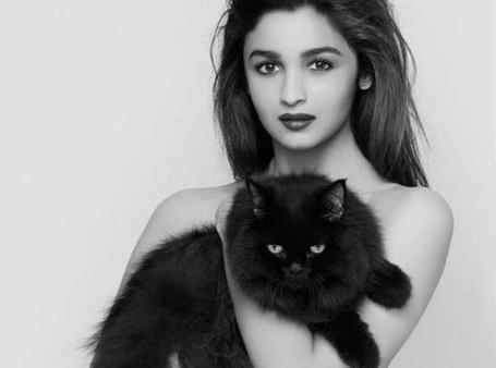 Фотосессии с черным котом