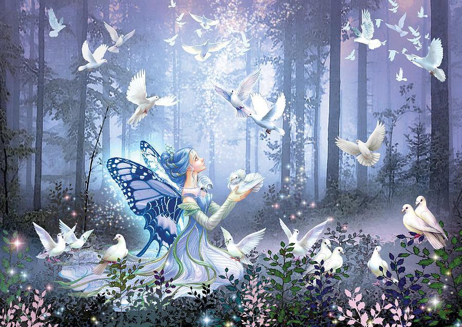 Картинки лесные феи с анимацией