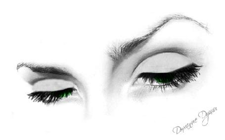 Фото Зеленые моргающие глаза, автор Дыхание Души
