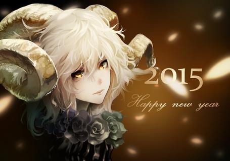 Фото Девушка с рожками (2015 Happy new year / Счастливого нового года)