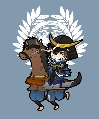 Фото Дате Масамуне / Date Masamune из игры и аниме Эпоха смут / Sengoku Basara