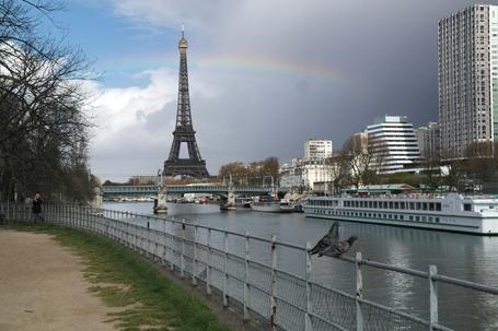 Фото Центр Парижа, Эйфелева башня