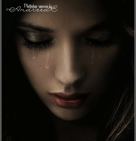 Фото Портрет плачущей девушки, by frozenstocks