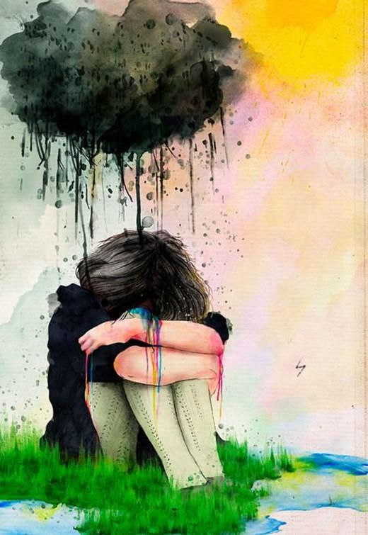картинки печали и боли имеет надувные большие