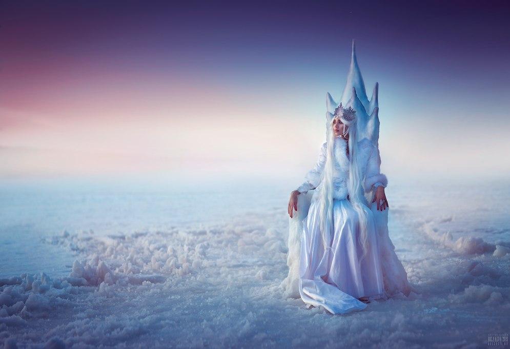 Трон для снежной королевы своими руками