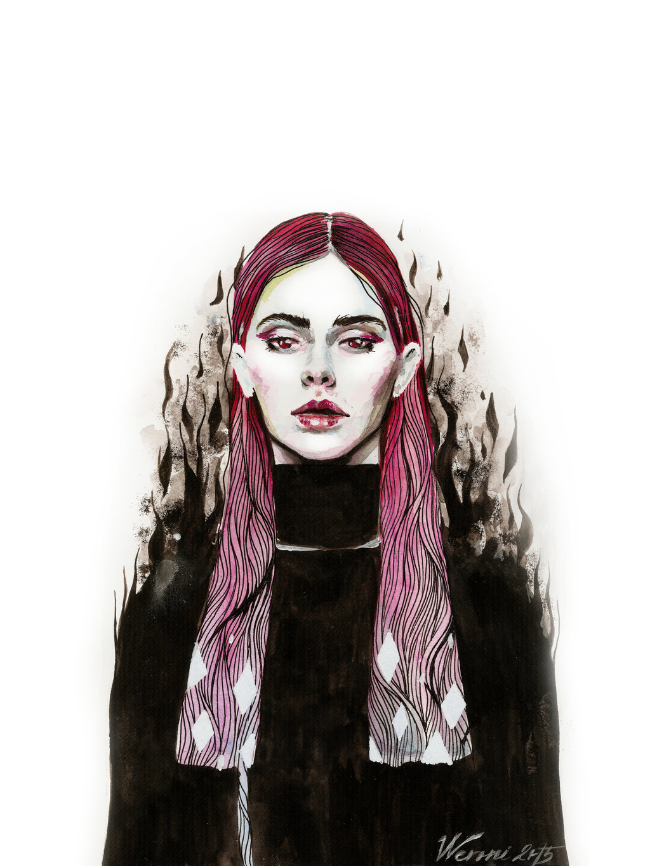 Девушка с шымкента