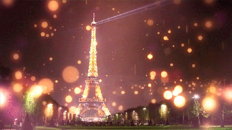 Фото Вид на Эйфелеву башню
