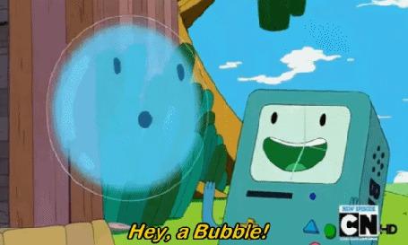 ���� ����� / Jake ����������� ������� ������, ����� �������� ���� / BMO, (Hey, a Bubble! POP!), Adventure Time / ����� ����������� (� Anatol), ���������: 15.02.2015 22:42