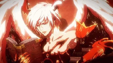 Фото Lucifer / Люцифер из аниме Shingeki no Bahamut / Ярость Бахамута
