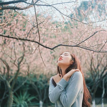 девушка в сером свитере эро фото