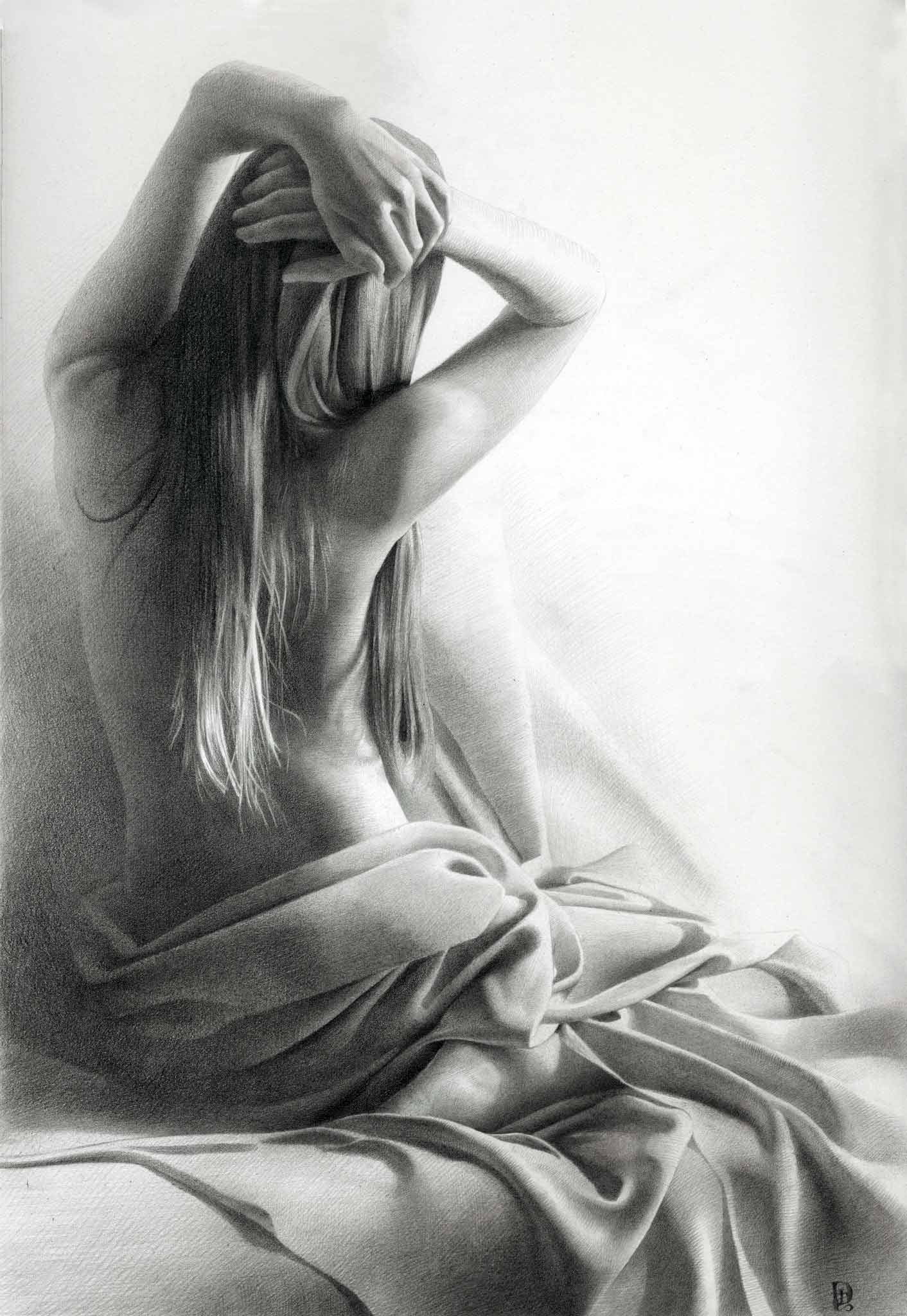 Рисунки на голой девочке 18 фотография