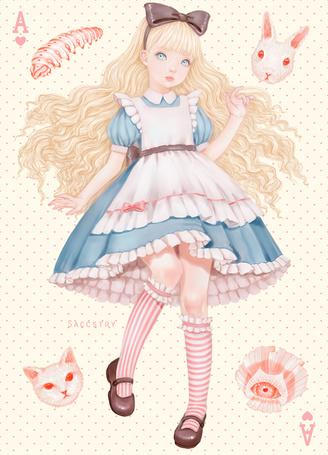 Фото Alice / Алиса из сказки Alice in Wonderland / Алиса в в стране чудес