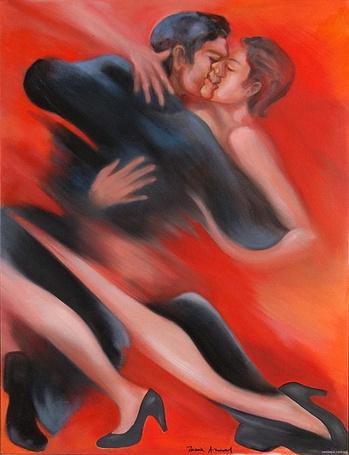 Фото Танец дикой страсти, художница Maria Amaral