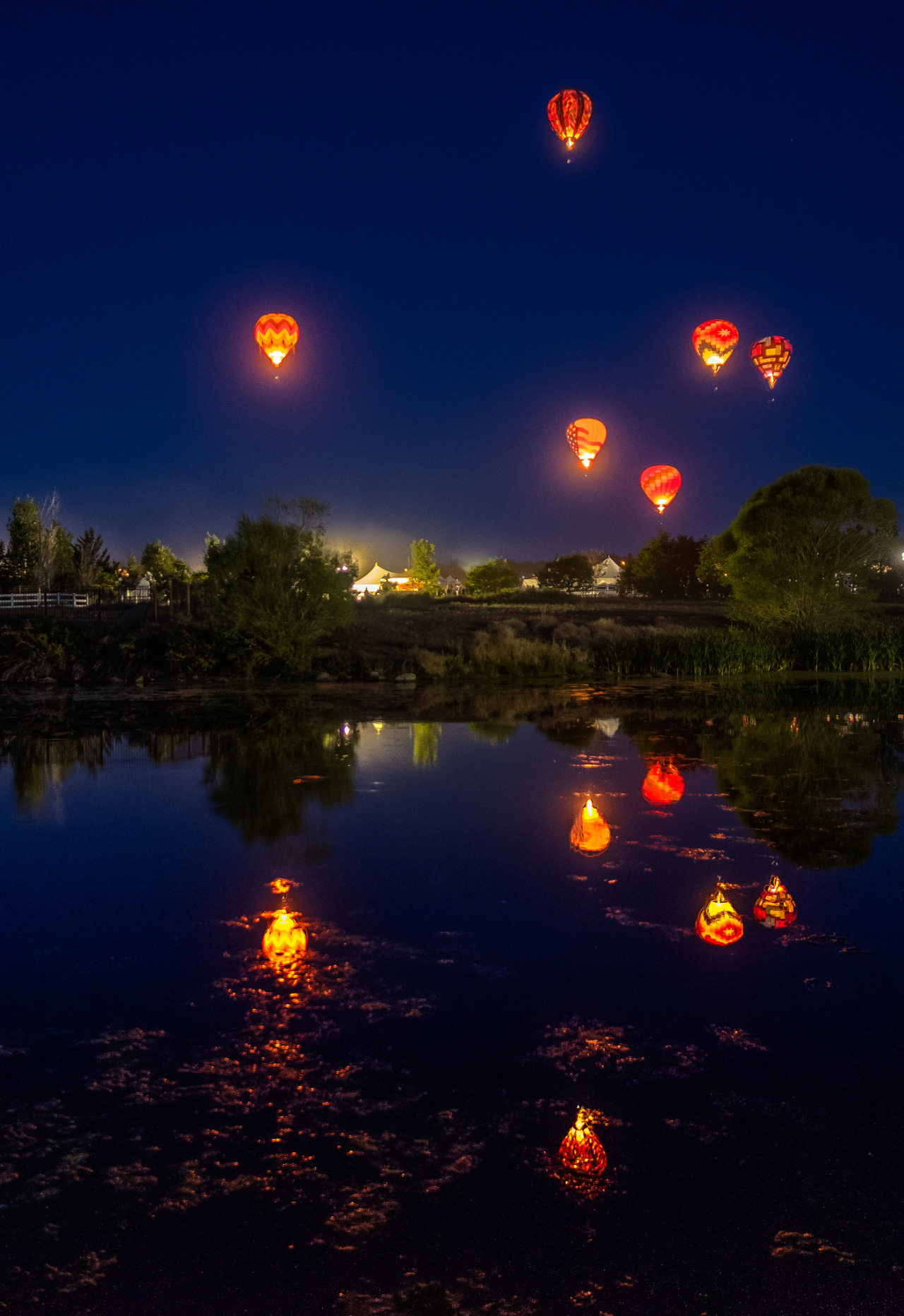 там заметил шарики в небо ночью фото приготовил этот